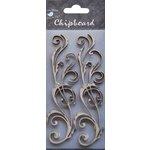 Little Birdie Crafts - Chipboard Pieces - Ornate Flourishes