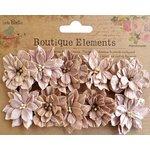 Little Birdie Crafts - Boutique Elements Collection - Serenade Blooms - Bisque
