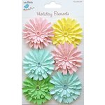 Little Birdie Crafts - Holiday Elements Collection - Spring - Button Paper Daisies