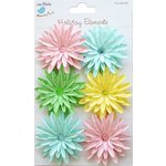 Little Birdie Crafts - Holiday Elements Collection - Spring - Jeweled Paper Daisies