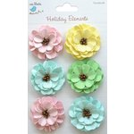 Little Birdie Crafts - Holiday Elements Collection - Spring - Pollen Paper Daisies
