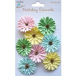 Little Birdie Crafts - Holiday Elements Collection - Spring - Thin Paper Daisies