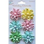 Little Birdie Crafts - Holiday Elements Collection - Spring - Paper Lilies