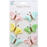 Little Birdie Crafts - Holiday Elements Collection - Spring - Beaded Butterflies