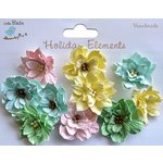 Little Birdie Crafts - Holiday Elements Collection - Spring - Serenade Blooms