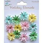 Little Birdie Crafts - Holiday Elements Collection - Spring - Star Paper Daisies