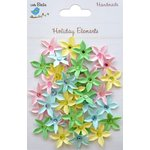 Little Birdie Crafts - Holiday Elements Collection - Spring - Jeweled Star Florettes