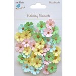 Little Birdie Crafts - Holiday Elements Collection - Spring - Beaded Daisies - Mini
