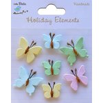 Little Birdie Crafts - Holiday Elements Collection - Spring - Beaded Butterflies - Mini