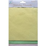 Little Birdie Crafts - Holiday Elements Collection - Spring - Glitter Sheets