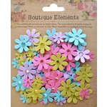 Little Birdie Crafts - Boutique Elements Collection - Jeweled Florettes - French Carnival