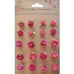 Little Birdie Crafts - Boutique Elements Collection - Rose Hill - Strawberry Fields