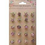 Little Birdie Crafts - Boutique Elements Collection - Rose Hill - Bisque