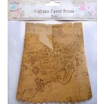Little Birdie Crafts - Vintage Map Collection - Gift Box - Treat - Large