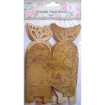 Little Birdie Crafts - Vintage Map Collection - Gift Box - Butterfly - Medium