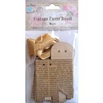 Little Birdie Crafts - Newsprint Collection - Gift Box - Triangle - Small
