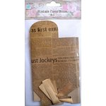Little Birdie Crafts - Newsprint Collection - Gift Box - Triangle - Large