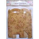 Little Birdie Crafts - Vintage Floral Collection - Gift Box - Gable - Large