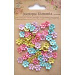 Little Birdie Crafts - Boutique Elements Collection - Beaded Petals - Micro - French Carnival