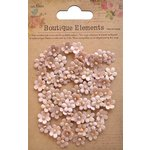 Little Birdie Crafts - Boutique Elements Collection - Beaded Petals - Micro - Bisque