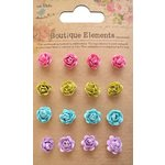 Little Birdie Crafts - Boutique Elements Collection - Micro Roses - French Carnival