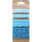 Little Birdie Crafts - Boutique Elements Collection - Crochet Trims - Ocean Spray