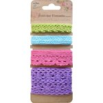 Little Birdie Crafts - Boutique Elements Collection - Crochet Trims - French Carnival