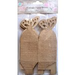 Little Birdie Crafts - Burlap Collection - Gift Box - Butterfly - Medium