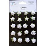 Little Birdie Crafts - Classic Elements Collection - Rose Hill - White