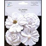 Little Birdie Crafts - Classic Elements Collection - Camden Cottage - White