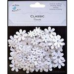 Little Birdie Crafts - Classic Elements Collection - Sparkle Florettes - White