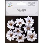 Little Birdie Crafts - Classic Elements Collection - Primrose - White