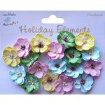 Little Birdie Crafts - Holiday Elements Collection - Spring - Embossed Daisies