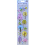 Little Birdie Crafts - Holiday Elements Collection - Spring - 3 Dimensional Printed Tree