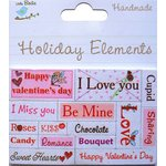 Little Birdie Crafts - Holiday Crafts Collection - Valentine - 3 Dimensional Words