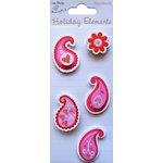 Little Birdie Crafts - Holiday Crafts Collection - Valentine - Paisleys