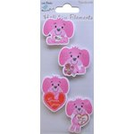Little Birdie Crafts - Holiday Crafts Collection - Valentine - Puppy