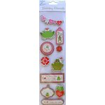 Little Birdie Crafts - Holiday Crafts Collection - Valentine - 3 Dimensional Printed Kiss Me