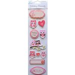 Little Birdie Crafts - Holiday Crafts Collection - Valentine - 3 Dimensional Printed Thinking of You