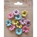 Little Birdie Crafts - Boutique Elements Collection - Petite Daisies - French Carnival