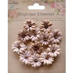Little Birdie Crafts - Boutique Elements Collection - Petite Daisies - Bisque