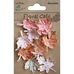 Little Birdie Crafts - Floral Cafe Collection - Printed Leaves - Red