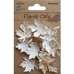Little Birdie Crafts - Floral Cafe Collection - Printed Leaves - Vintage