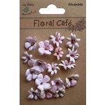 Little Birdie Crafts - Floral Cafe Collection - Printed Vienna Petals - Pink