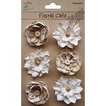 Little Birdie Crafts - Floral Cafe Collection - Printed Linz Petals - Vintage