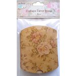 Little Birdie Crafts - Vintage Floral Collection - Gift Box - Pillow - Medium