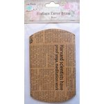 Little Birdie Crafts - Newsprint Collection - Gift Box - Pillow Box - Large