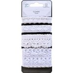 Little Birdie Crafts - Classic Elements Collection - Crochet Trims - White