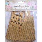 Little Birdie Crafts - Newsprint Collection - Gift Box - Treat - Medium