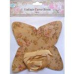 Little Birdie Crafts - Vintage Floral Collection - Gift Box - Pyramid - Medium